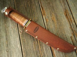 Ka-Bar Bowie Leather Handle