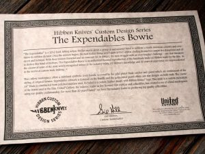 The Expendables Bowie