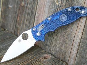 Spyderco Manix 2 Blue Lightweight