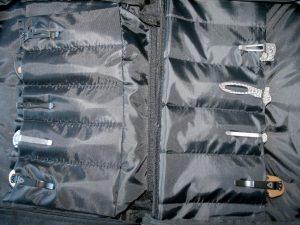 Väska för 22 knivar