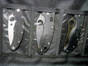 Spyderco Spyderpac Large. Väska för 30 knivar