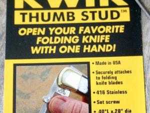 Kwik Thumb Stud