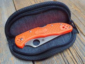 Spyderco Zipper Case Small, Nylon