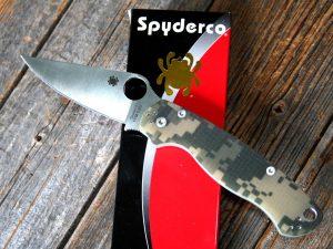 Spyderco Para Military 2 Camo