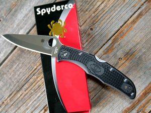 Spyderco Endura 4 FRN Svart