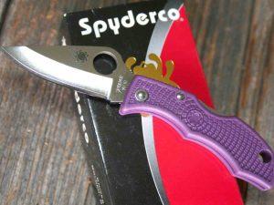 Spyderco LadyBug 3 Lila