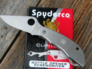 Spyderco ClipiTool, Screwdriver/Opener