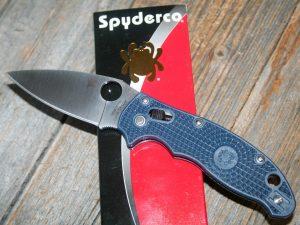 Spyderco Manix 2 Dark Blue Lightweight