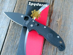 Spyderco Manix 2 Black LW