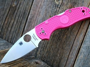 Spyderco Native 5 Lightweight Pink
