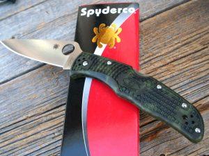 Spyderco Endura 4 FFG Zome Green