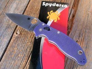 Spyderco Manix 2 Dark Blue G-10
