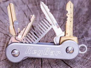 KeyBar, Aluminium