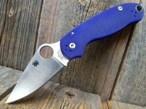 Spyderco Para 3 Midnight Blue