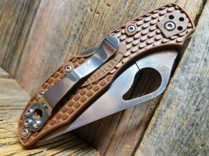 Spyderco Byrd Meadowlark 2 Brown