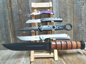 Knivställ för 5 knivar