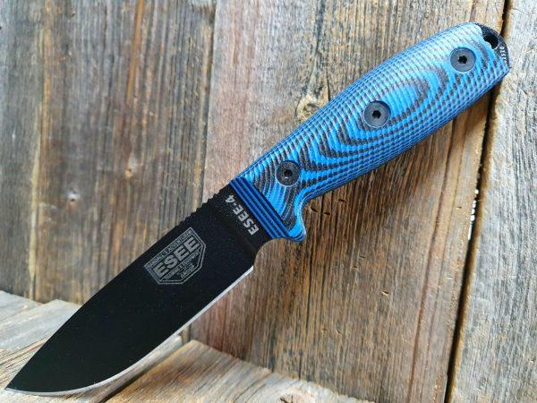 ESEE 4 Blue/Black 3D Handle