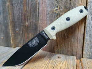 ESEE 4 Green Micarta 3D Handle