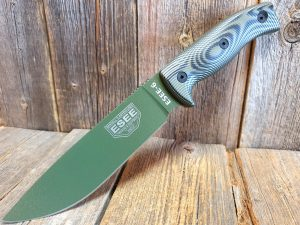 ESEE 6, OD green/black G10 3D Handle