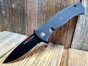 AL MAR Mini S.E.R.E 2020 D2 Black Blade Black Handle