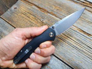CJRB Feldspar, G10 Black