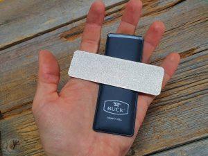 Buck EdgeTek Dual Flat Pocket Stone