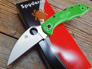 Spyderco Salt 2 Green Wharncliffe